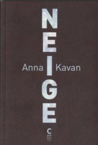 1ère de couverture Neige de Anna - Editions Cambourakis