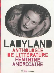 """1ère de couverture """"Ladyland"""" chez Editions 13e Note"""